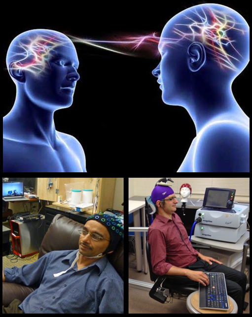 Brain-to-brain interface allows remote control another human over internet..!