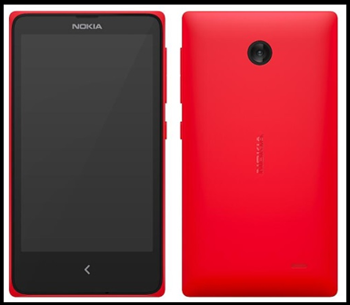... Nokia's Android phone ...