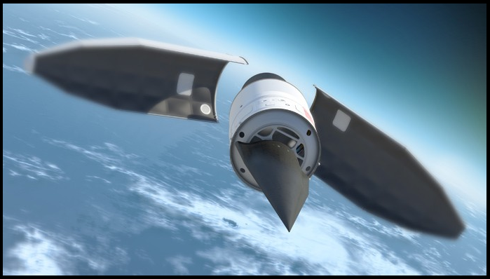 ... China launched its first hypersonic missle vehicle ...  China launched its first hypersonic missle vehicle in January, while America has been developing the technology for many years. Image is the Falcon Hypersonic Technology Vehicle 2 from the Defense Advanced Research Projects Agency, an agency of the U.S. Department of Defense.