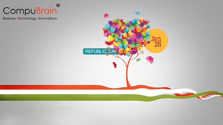 CompuBrain wishes you a Happy #Republic day!