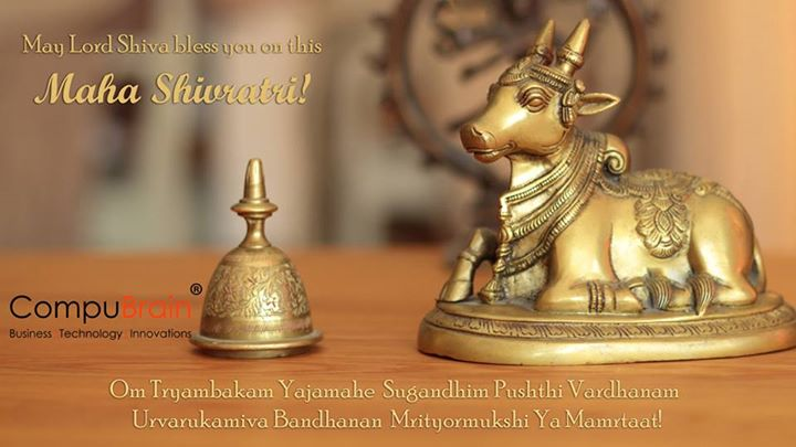 CompuBrain wishes you all a happy #MahaShivratri!