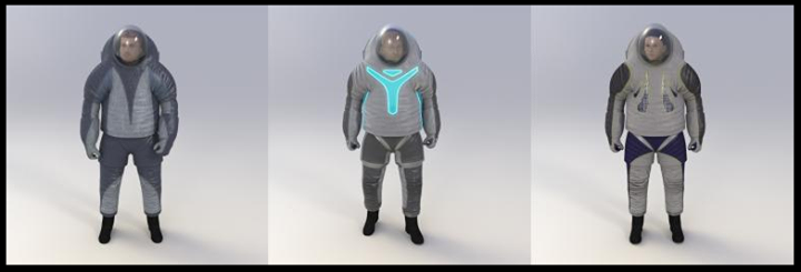 ... NASA Reveals Spacesuit Of The Future ...  NASA has revealed its spacesuit of the future, the Z-2, and the space agency wants the public's help in developing the first prototype. The Z-2 spacesuit features three choices that look like something a child would dream up which means it is perfect for the future of space exploration.