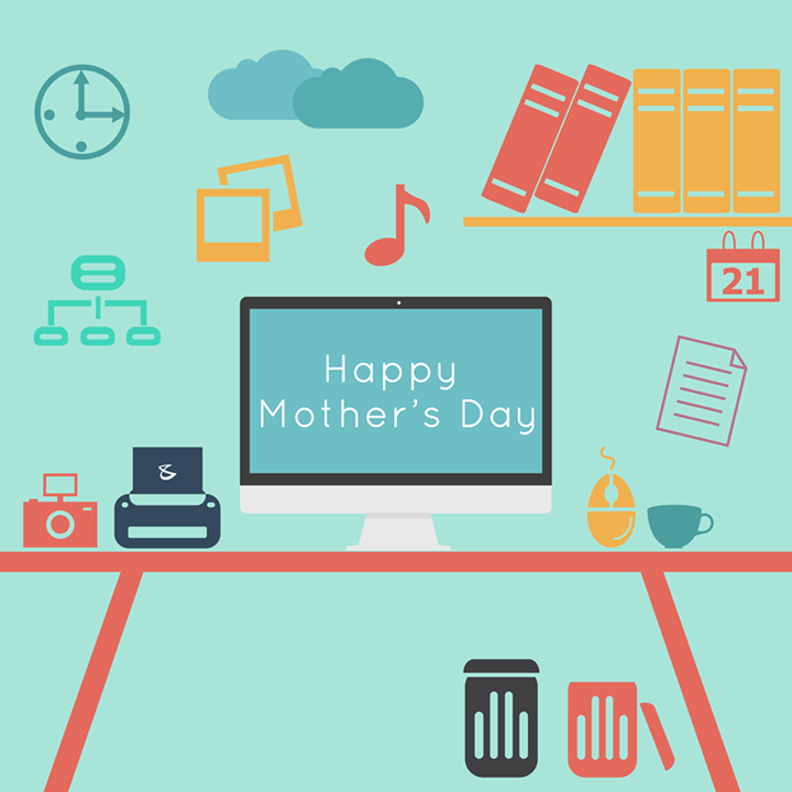 To all the #TechnoMoms A very #HappyMothersDay!  - Team Compubrain!