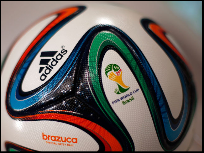 ... Ball With In-Built Camera to be Used in Brazil ...  Technology will get a new meaning in the upcoming FIFA World Cup in Brazil as the Brazuca balls to be used in the mega event will come with six in-built HD cameras capturing 360 degree view of the on-field action. Encapsulating everything that's Brazil and its passion for the game, the ball has shades of blue, orange and green, and stars on it reflecting the vibrancy and flair associated with the game in the Mecca of football.