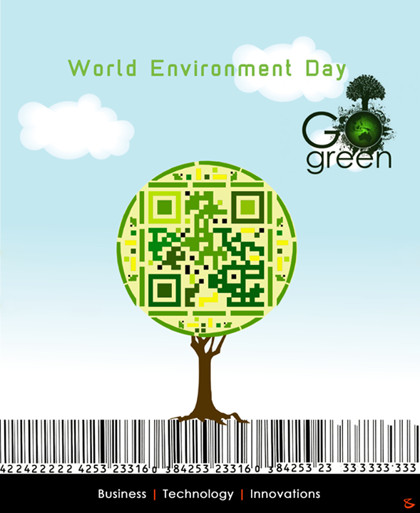 Let us join hands to keep the environment alive where we live in.  #WorldEnvironmentDay