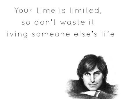 #Time #WiseWords #SteveJobs