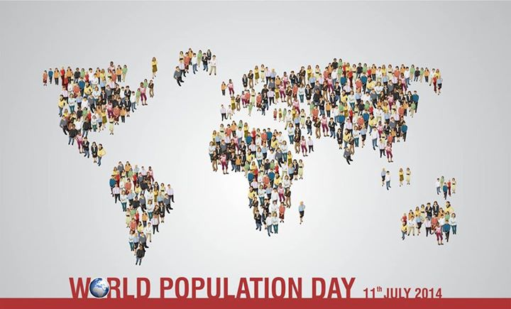 It's time we think & educate about the increasing #population!  #PopulationDay #PopulationAwareness #WorldPopulationDay