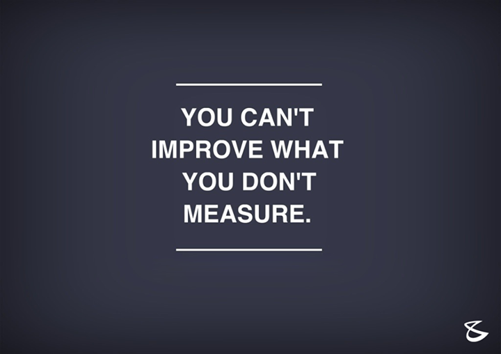 #WiseWords #Improve #Measure