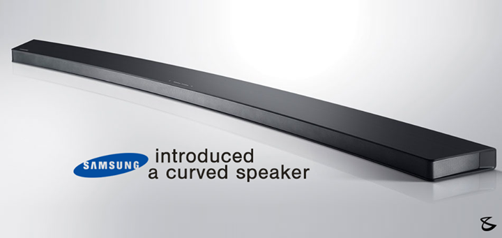 #Samsung Unveils #Curved #Speaker to Join Its Line of Curved Smart TVs!  Would you like to possess a speaker this #stylish?