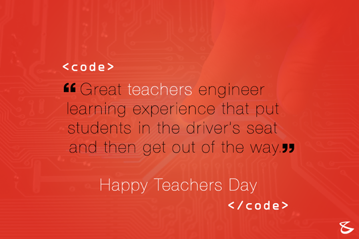 #HappyTeachersDay!