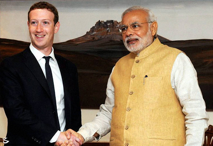 #SocialNetworking: #Mark meets #Modi   #Facebook to help govt develop 'Clean India' mobile app