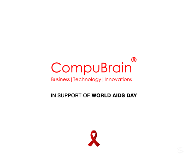 CompuBrain in support of #WorldAidsDay!