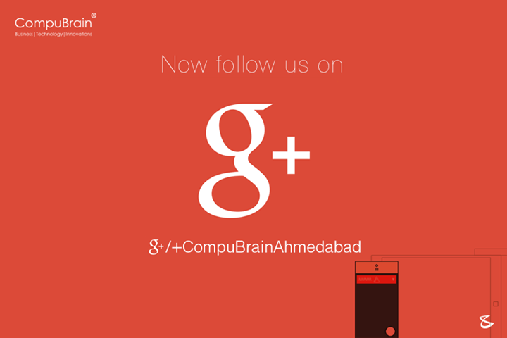 You can now follow us on GooglePLUS !  #Business #Technology #Innovation