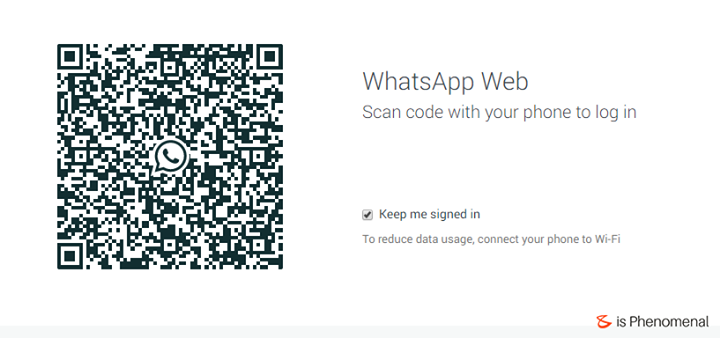 Ping. Ping.  #Scan check done?  #Whatsapp for desktop!