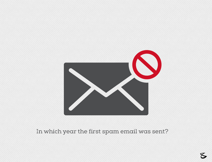Do you know in which year the first spam email was sent?  #Business #Technology #Innovations