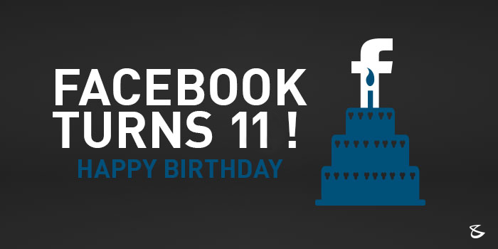 Facebook celebrates its 11th birthday today! Has it been a life changer?  #Facebook #SocialMedia #Birthday