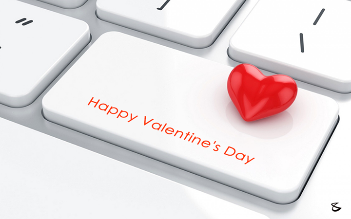 Wishing you all a Happy Valentine's day.   #ValentinesDay #Wishes #Love