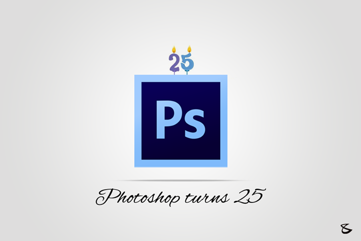 Happy #Birthday Adobe Photoshop ! #Photoshopturns25!  Tell us is it your favorite image-editing tool?