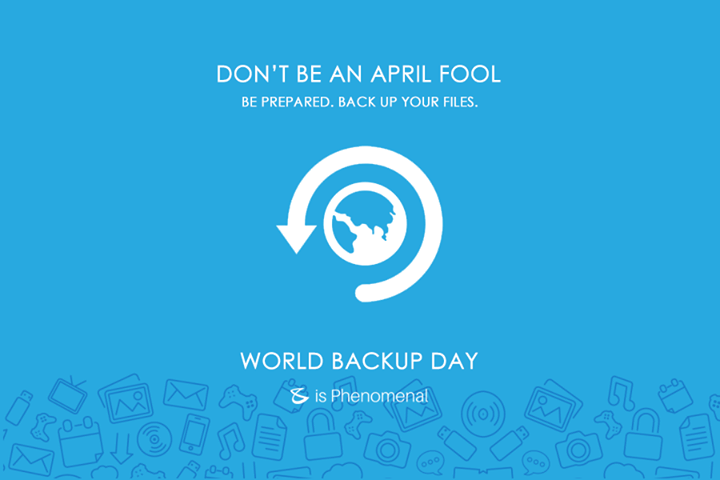 Along with filing your #taxes, don't forget this important step for your digital safety..  #BackUpDay