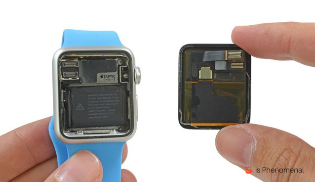 See the Apple Watch torn down to its minuscule parts.  #Business #Technology #Innovations #Apple