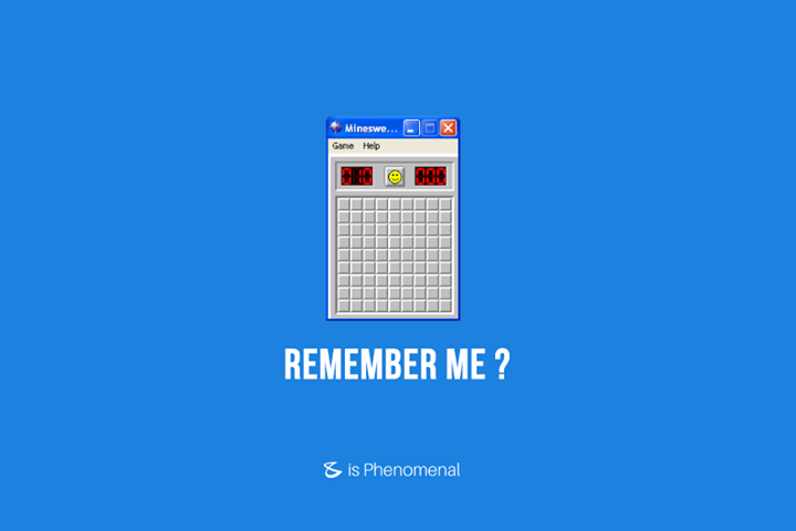 Share this if you remember the time you mindlessly clicked on the square tiles hoping you'd win a game of Minesweeper!  #Business #Technology #Innovations