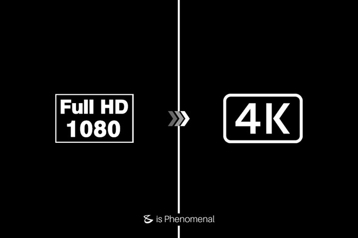 #DoYouKnow: A High Definition TV with 1080p resolution is composed of two million pixels (1920 x 1080), while a 4K TV (aka Ultra High Definition) has over eight million pixels (3840 x 2160). Therefore, 4K has around four times more resolution than 1080p and produces a clearer picture.  #Business #Technology #Innovations
