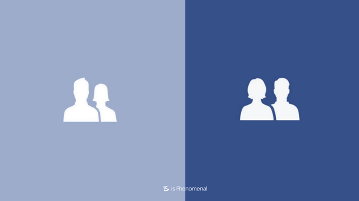 Facebook makes men and women equal in new Friends icon.  #Business #Technology #Innovations #FaceBook