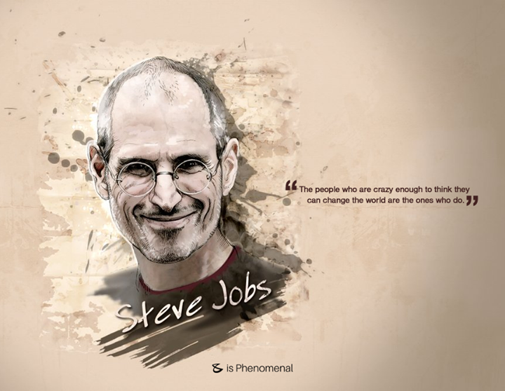 Are you crazy enough?  #SteveJobs #CompuBrain #Inspiration #GuruPurnima
