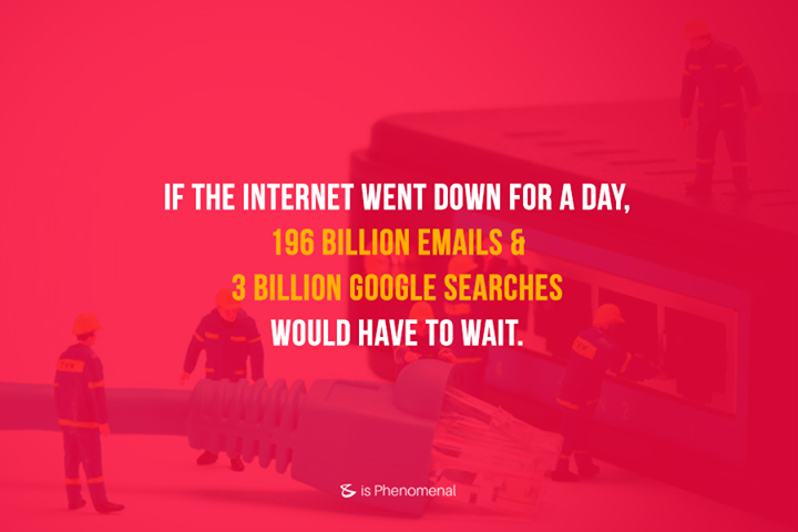 The internet has certainly impacted our lives in many ways. #DidYouKnow this fact about internet?  #Business #Technology #Innovations