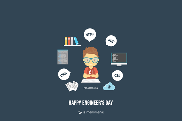 #HappyEngineersDay from CompuBrain !