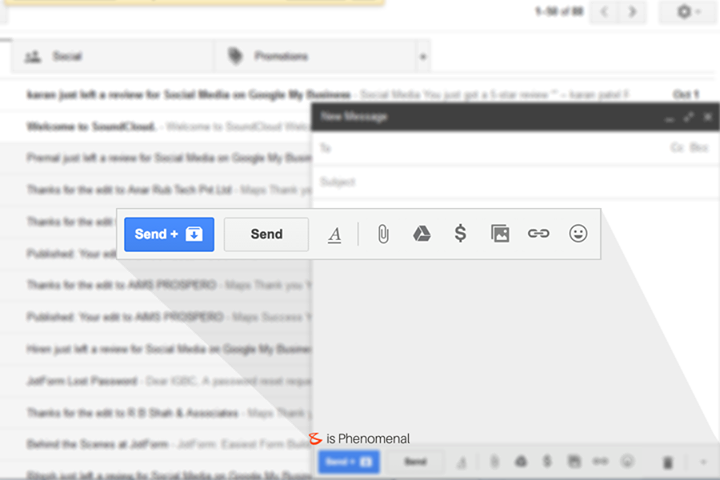 "Turn on ""Send & Archive"" to help keep your inbox clutter-free with 1 click!  #Business #Technology #Innovations #Gmail"