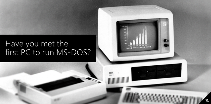 August 1981 IBM PC, the first to run 16-bit #Microsoft DOS  #Business #Technology #Innovations