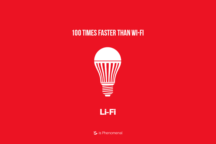 #TechNews  Li-fi can deliver internet access 100 times faster than traditional wi-fi, offering speeds of up to 1Gbps (gigabit per second). It requires a light source, such as a standard LED bulb, an internet connection and a photo detector. It was tested this week by Estonian start-up Velmenni, in Tallinn. Velmenni used a li-fi-enabled light bulb to transmit data at speeds of 1Gbps. Laboratory tests have shown theoretical speeds of up to 224Gbps. It was tested in an office, to allow workers to access the internet and in an industrial space, where it provided a smart lighting solution.  #WiFi #LiFi #Business #Technology #Innovations