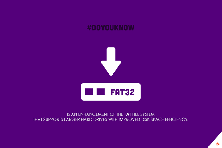 Do you know what is FAT32?  #Business #Technology #Innovations #TechKnowledge #CompuBrain