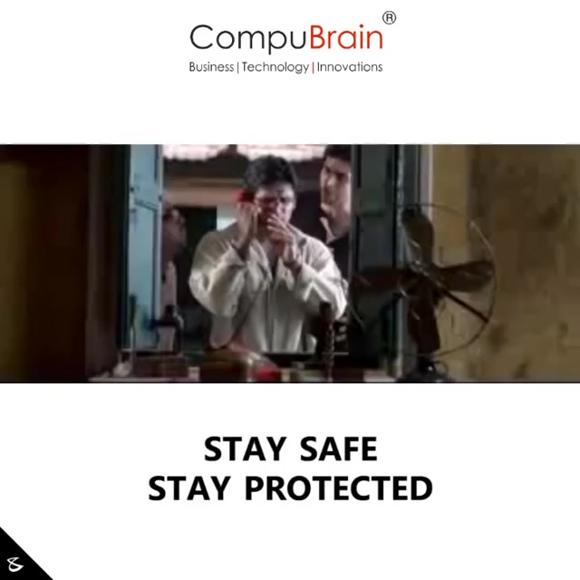 Stay Safe. Stay Protected.  #business #technology #innovations #CompuBrain #corona #COVID19 #coronavirus