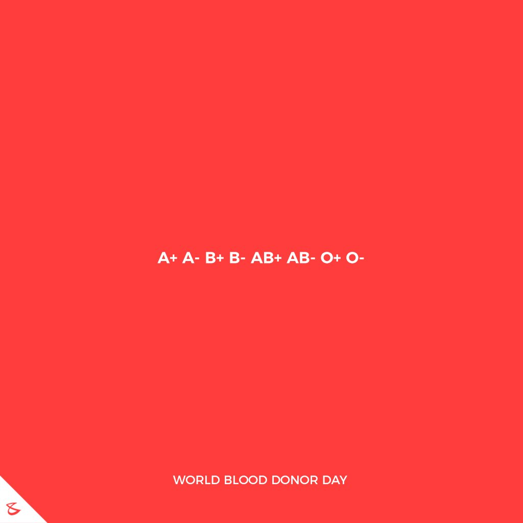 Bring a life back to power!  #Business #Technology #Innovations #CompuBrain #WorldBloodDonorDay https://t.co/s3Bp3l5Bmu