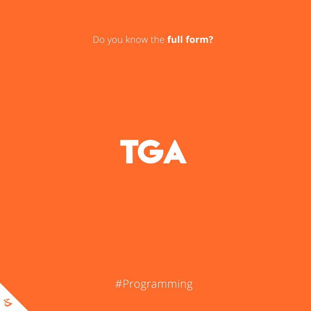 Do you know the full form of TGA?  #Business #Technology #Innovations #CompuBrain https://t.co/NGsW1L0dqb