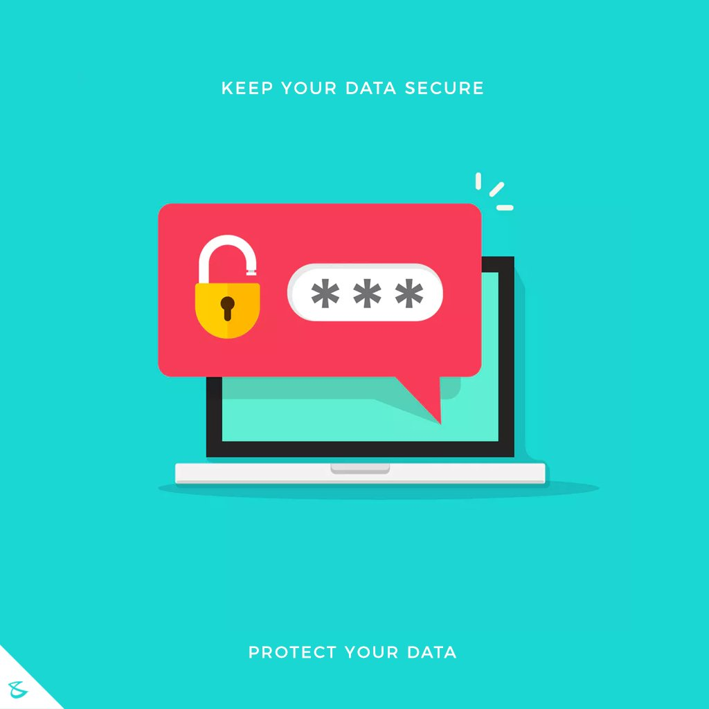 Protect your Data! #Business #Technology #Innovations #CompuBrain #BrandingSquare #DataSecurity https://t.co/0YqDS2GtII