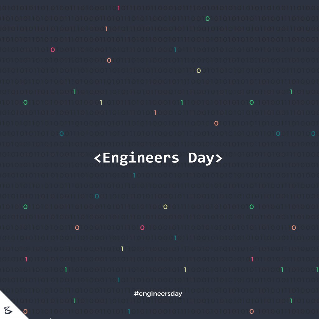 :: Happy Engineers Day ::  #Business #Technology #Innovations #CompuBrain #EngineersDay #EngineersDay2018 https://t.co/3pUPkvd7uT