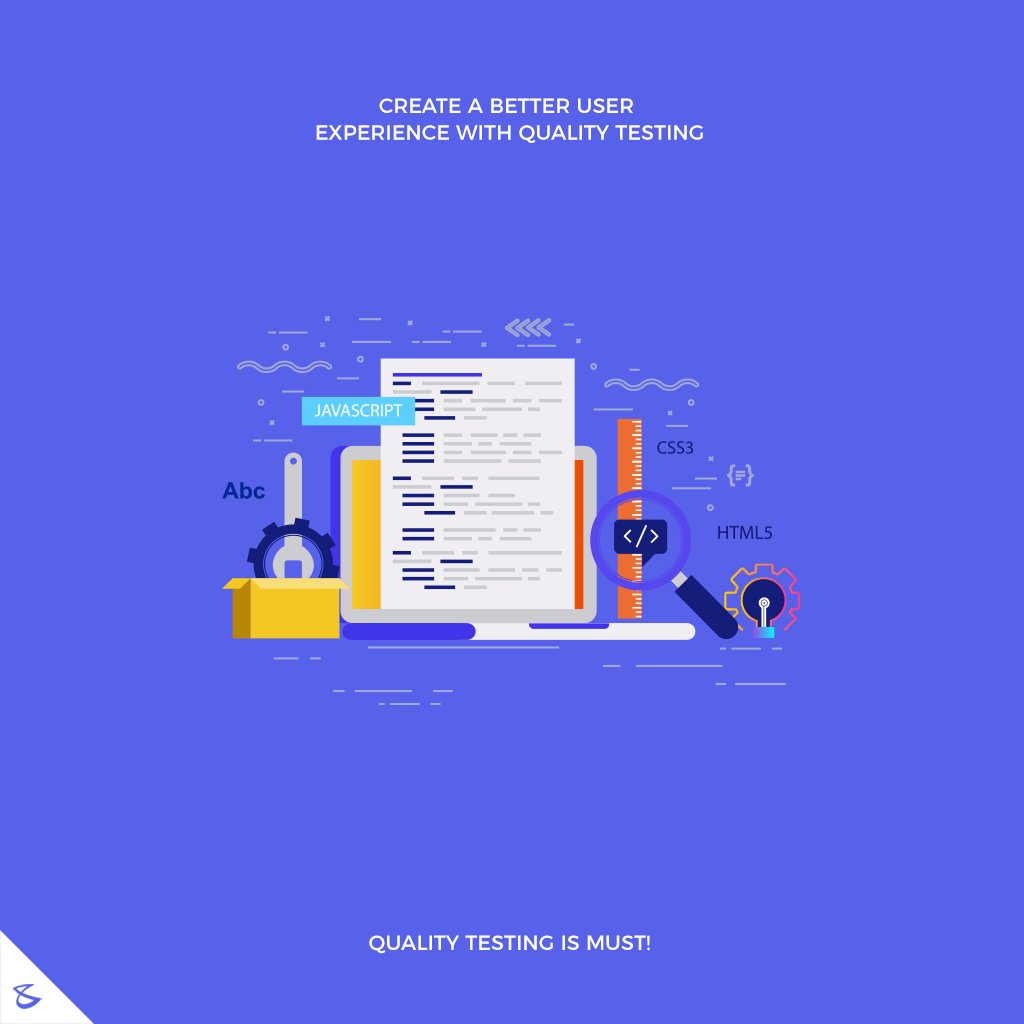 Create a better user experience with quality testing.  #CompuBrain #Business #Technology #Innovations #WebsiteTesting #QualityTesting #Ahmedabad #WebsiteDesigning #UI #UX #India #Gujarat https://t.co/Kagzxu7FW8