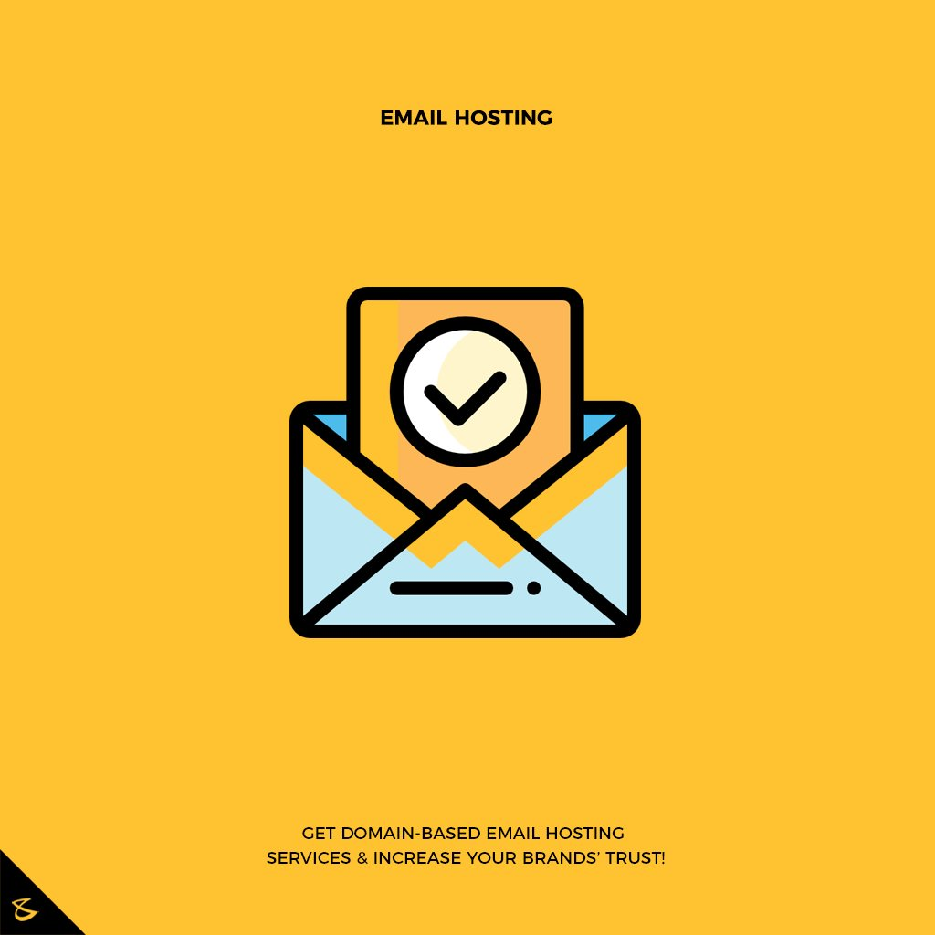 Promote your business with email that matches your domain.  #CompuBrain #Business #Technology #Innovations #DigitalMediaAgency #EmailHosting #Email https://t.co/cQTn9NbUpA