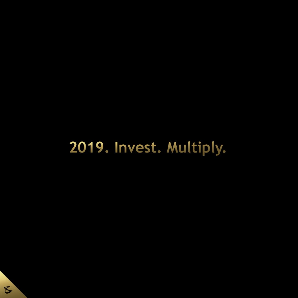 :: 2019. Invest. Multiply. ::  New Year. New Vision.  #CompuBrain #Business #Technology #Innovations #DigitalMediaAgency https://t.co/r1UQivNR6X