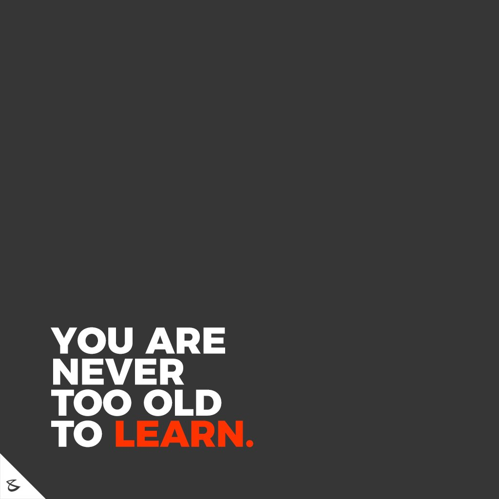 Keep Learning!  #CompuBrain #Business #Technology #Innovations #SocialMediaAgency #Motivation https://t.co/RyYbTJzX0G