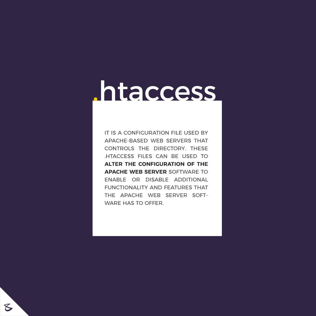 The functionality of .htaccess file  #CompuBrain #Business #Technology #Innovations https://t.co/toUgdv2hcS