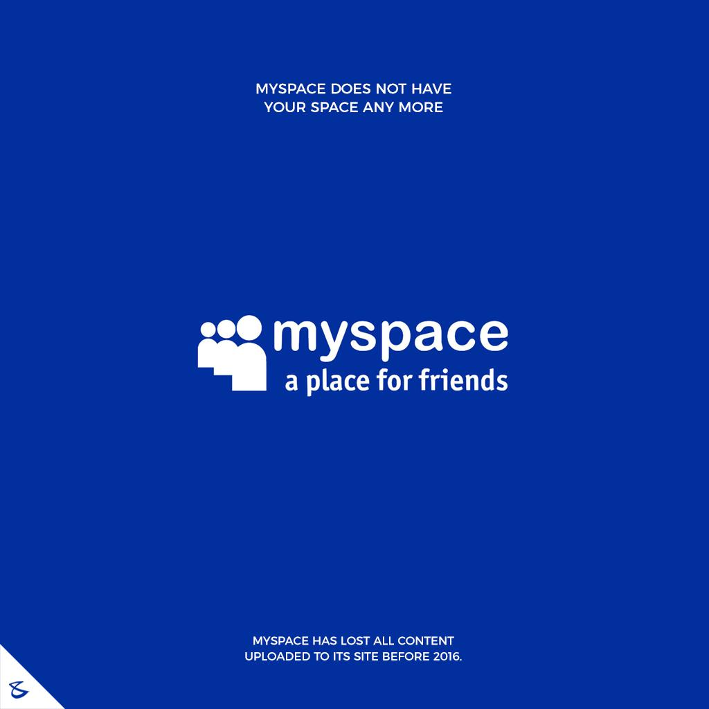 Myspace does not have your space any more  #CompuBrain #Business #Technology #Innovations  #DigitalMediaAgency #MySpace https://t.co/rvTs3BURm5
