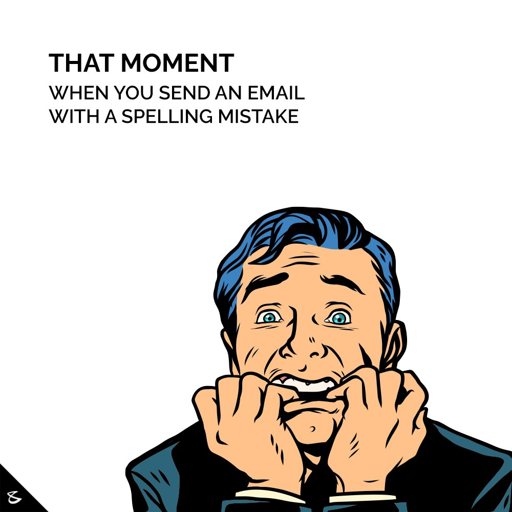 We feel you! But we use Cortal for seamless, zero-error email communication.   #Cortal #CompuBrain #Business #Technology #Innovation https://t.co/CvP0KAAdjl