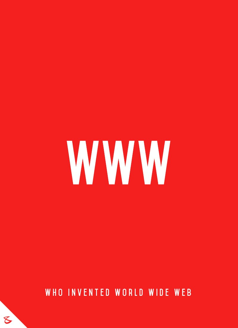 Who invented #WorldWideWeb? #Business #Technology #Innovations #WWW #CompuBrain https://t.co/YLhxrRbliw