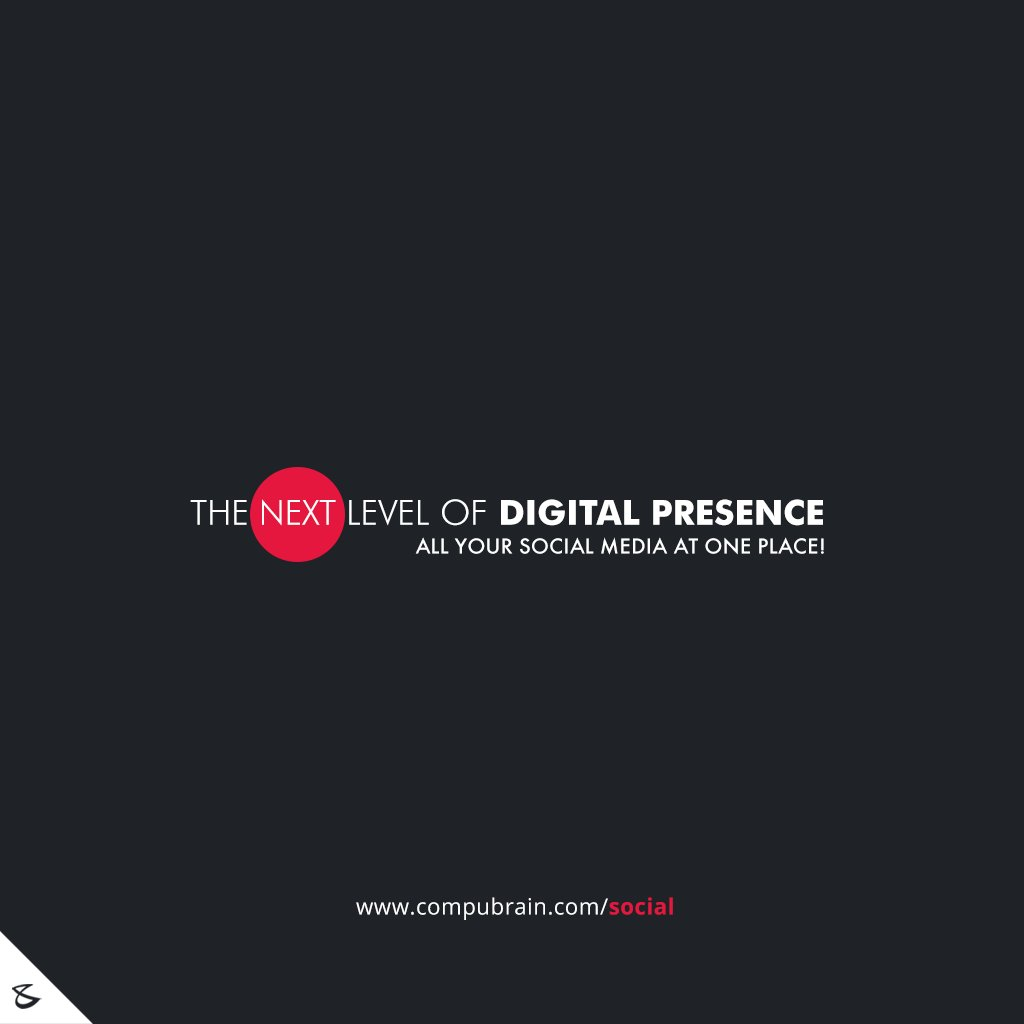 The next level of #DigitalPresence!  #SocialMedia2p0 #Business #Technology #Innovations #CompuBrain https://t.co/qpDPWQZXqx