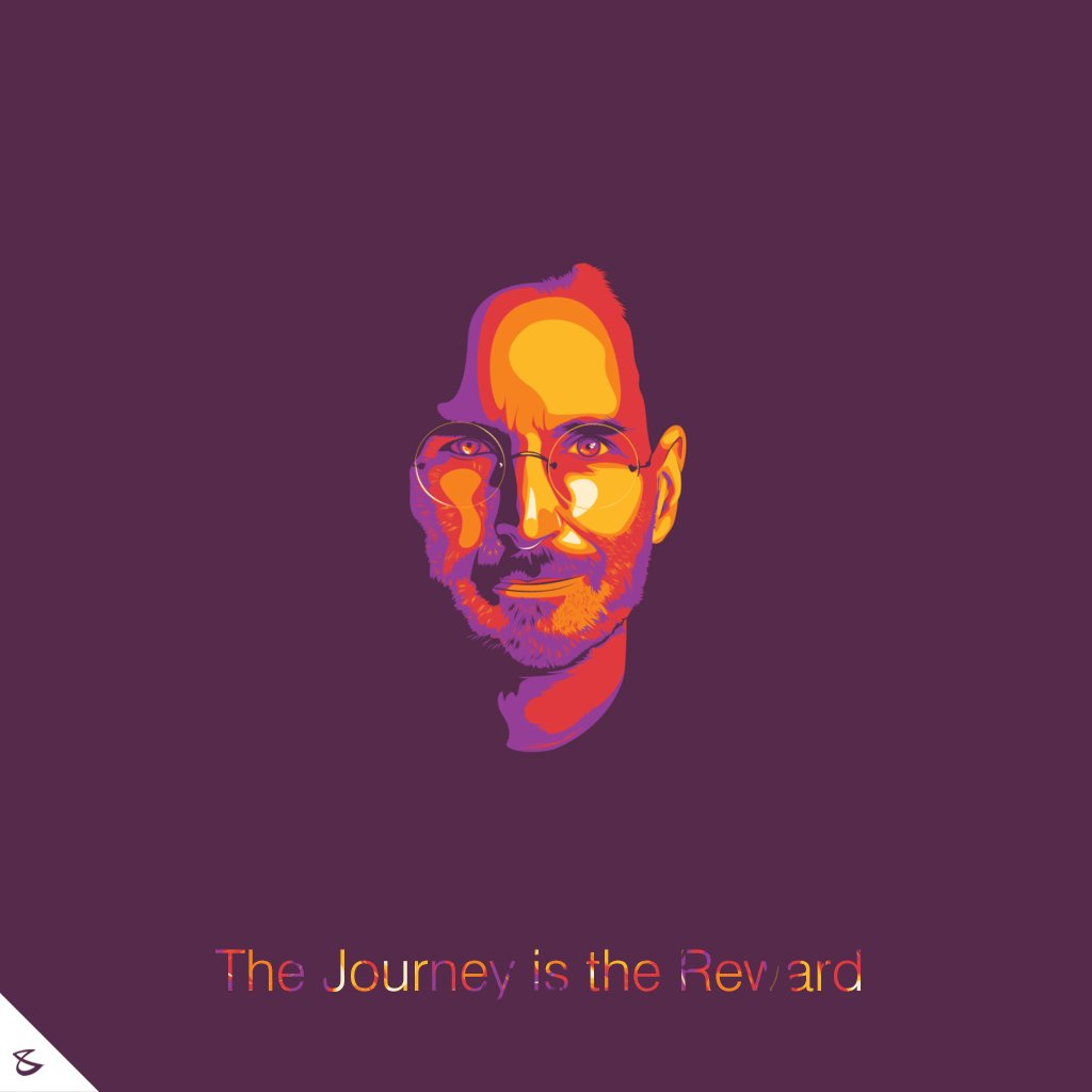 The journey is the reward!  #OurMentor #SteveJobs #TeachersDay #CompuBrain #Business #Technology #innovations https://t.co/K8UfF6V4do
