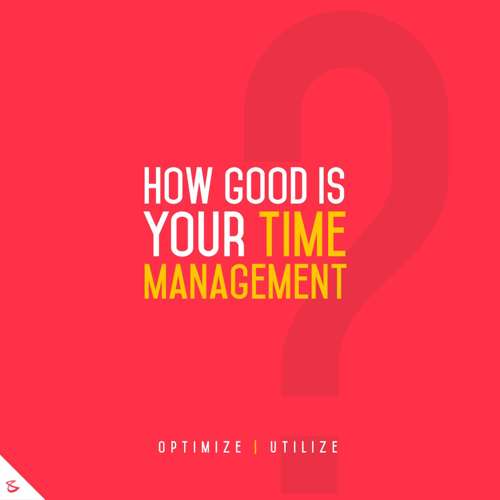 How do manage your time?  #TimeManagement #Business #Technology #Innovations #CompuBrain https://t.co/WCw3IuYaPd